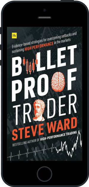 Cover of Bulletproof Trader (Ebook - phone) by Steve Ward