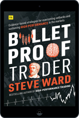 Cover of Bulletproof Trader (Ebook - tablet) by Steve Ward