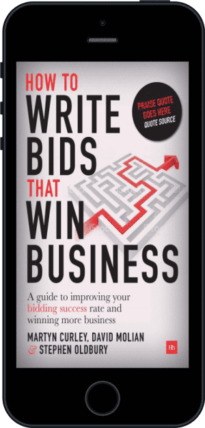 Cover of How to Write Bids That Win Business (Ebook - phone) by David Molian, Martyn Curley and Stephen Oldbury