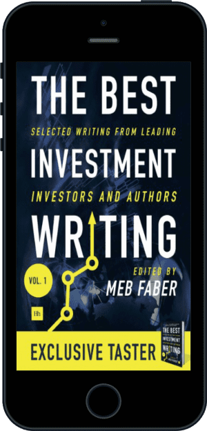 Cover of The Best Investment Writing Sampler (Ebook - phone) by Meb Faber