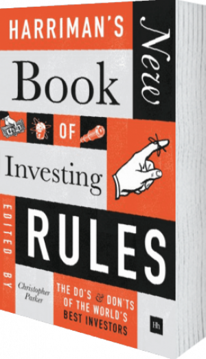 Cover of Harriman's NEW Book of Investing Rules (Hardback) by Christopher Parker