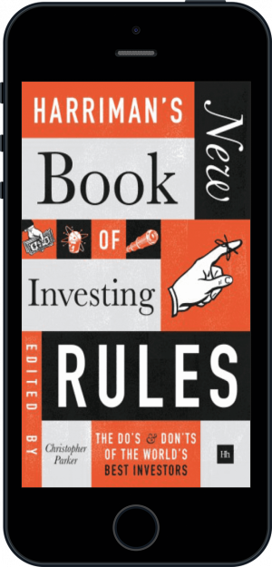 Cover of Harriman's NEW Book of Investing Rules (Ebook - phone) by Christopher Parker