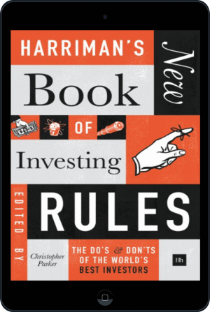 Cover of Harriman's NEW Book of Investing Rules (Ebook - tablet) by Christopher Parker