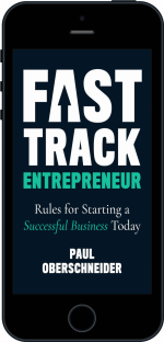 Cover of Fast Track Entrepreneur by Paul Oberschneider