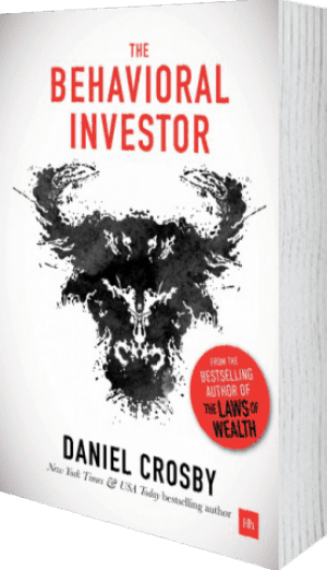 Cover of The Behavioral Investor (Hardback) by Daniel Crosby