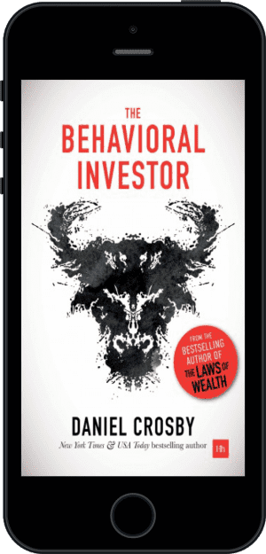 Cover of The Behavioral Investor (Ebook - phone) by Daniel Crosby