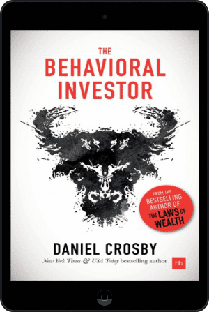 Cover of The Behavioral Investor (Ebook - tablet) by Daniel Crosby