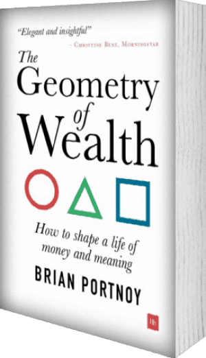 Cover of The Geometry of Wealth (Paperback) by Brian Portnoy