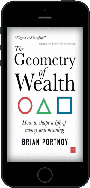 Cover of The Geometry of Wealth (Ebook - phone) by Brian Portnoy