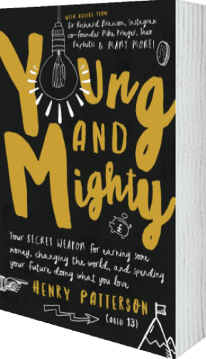 Cover of Young and Mighty by Henry Patterson
