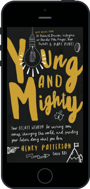 Cover of Young and Mighty (Ebook - phone) by Henry Patterson