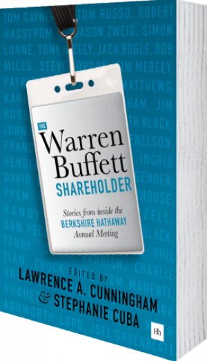 Cover of The Warren Buffett Shareholder (Paperback) by Lawrence A. Cunningham and Stephanie Cuba