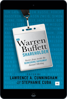 Cover of The Warren Buffett Shareholder by Lawrence A. Cunningham and Stephanie Cuba