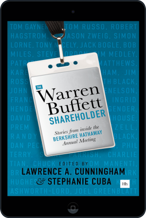 Cover of The Warren Buffett Shareholder (Ebook - tablet) by Lawrence A. Cunningham and Stephanie Cuba