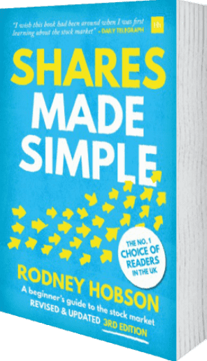 Cover of Shares Made Simple (Paperback) by Rodney Hobson