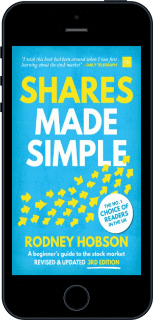 Cover of Shares Made Simple (Ebook - phone) by Rodney Hobson