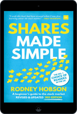 Cover of Shares Made Simple (Ebook - tablet) by Rodney Hobson