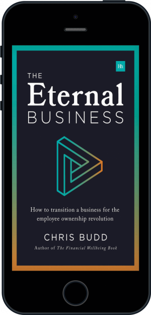 Cover of The Eternal Business (Ebook - phone) by Chris Budd