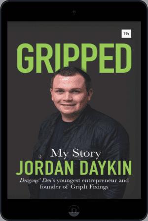 Cover of Gripped (Ebook - tablet) by Jordan Daykin