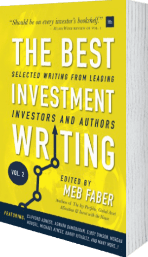Cover of The Best Investment Writing Volume 2 (Hardback) by Meb Faber