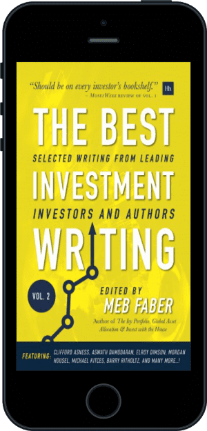 Cover of The Best Investment Writing Volume 2 (Ebook - phone) by Meb Faber