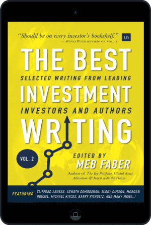 Cover of The Best Investment Writing Volume 2 (Ebook - tablet) by Meb Faber