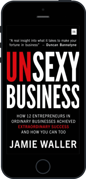 Cover of Unsexy Business (Ebook - phone) by Jamie Waller