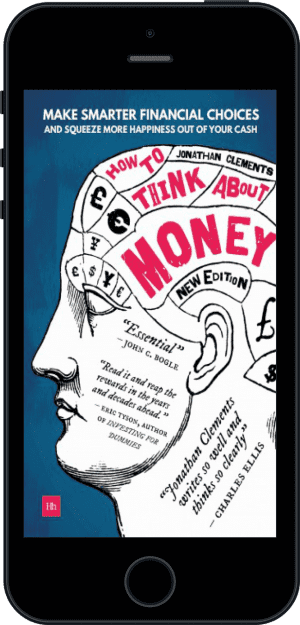 Cover of How to Think About Money (Ebook - phone) by Jonathan Clements