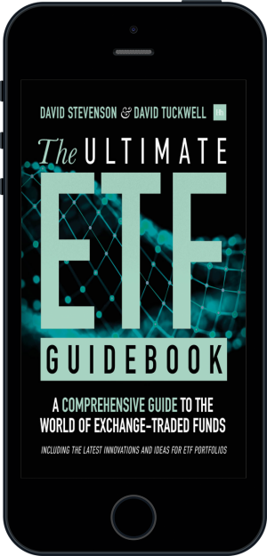 Cover of The Ultimate ETF Guidebook (Ebook - phone) by David Stevenson and David Tuckwell