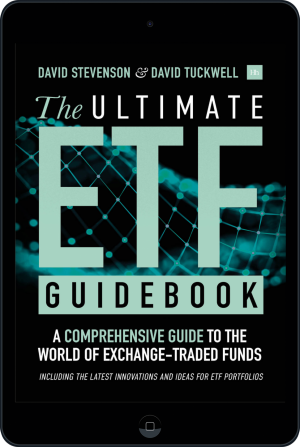 Cover of The Ultimate ETF Guidebook (Ebook - tablet) by David Stevenson and David Tuckwell
