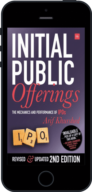 Cover of Initial Public Offerings -- 2nd Edition (Ebook - phone) by Arif Khurshed