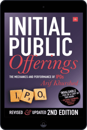 Cover of Initial Public Offerings -- 2nd Edition (Ebook - tablet) by Arif Khurshed