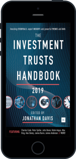 Cover of The Investment Trusts Handbook 2019 by Jonathan Davis