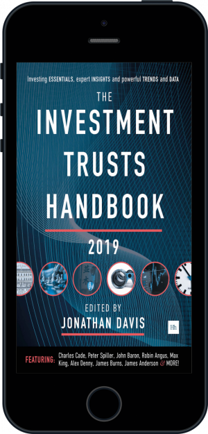 Cover of The Investment Trusts Handbook 2019 (Ebook - phone) by Jonathan Davis