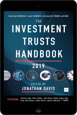 Cover of The Investment Trusts Handbook 2019 (Ebook - tablet) by Jonathan Davis