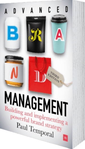 Cover of Advanced Brand Management -- 3rd Edition (Hardback) by Paul Temporal
