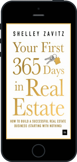 Cover of Your First 365 Days in Real Estate (Ebook - phone) by Shelley Zavitz