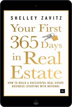 Cover of Your First 365 Days in Real Estate (Ebook - tablet) by Shelley Zavitz