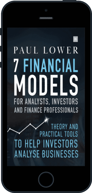 Cover of 7 Financial Models for Analysts, Investors and Finance Professionals (Ebook - phone) by Paul Lower