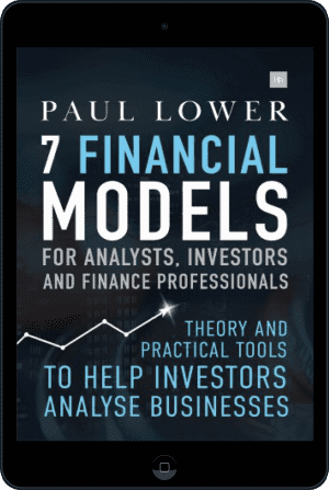 Cover of 7 Financial Models for Analysts, Investors and Finance Professionals (Ebook - tablet) by Paul Lower