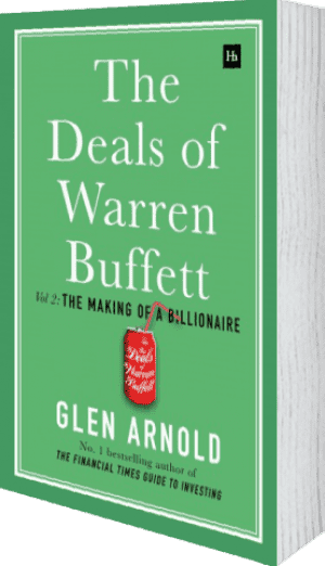 Cover of The Deals of Warren Buffett Volume 2 (Hardback) by Glen Arnold