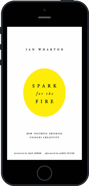 Cover of Spark for the Fire (Ebook - phone) by Ian Wharton