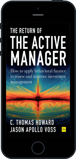 Cover of Return of the Active Manager (Ebook - phone) by C. Thomas Howard and Jason Apollo Voss
