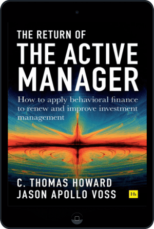 Cover of Return of the Active Manager (Ebook - tablet) by C. Thomas Howard and Jason Apollo Voss