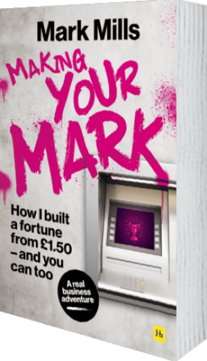 Cover of Making Your Mark (Hardback) by Mark Mills