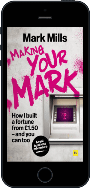 Cover of Making Your Mark (Ebook - phone) by Mark Mills