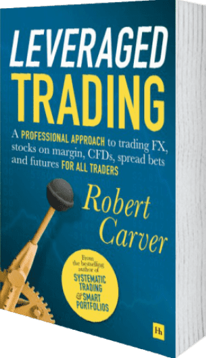 Cover of Leveraged Trading (Hardback) by Robert Carver