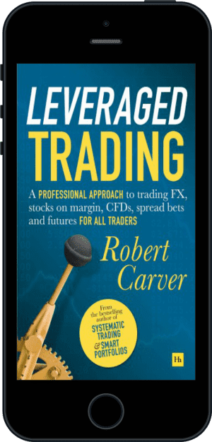 Cover of Leveraged Trading (Ebook - phone) by Robert Carver