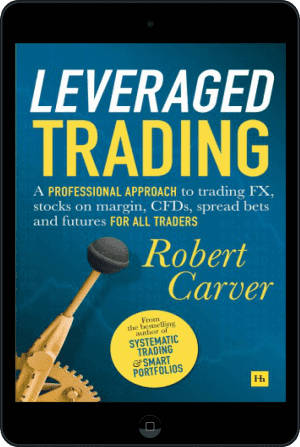 Cover of Leveraged Trading (Ebook - tablet) by Robert Carver