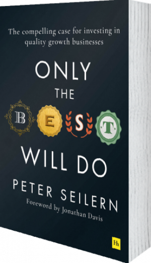 Cover of Only the Best Will Do (Hardback) by Peter Seilern